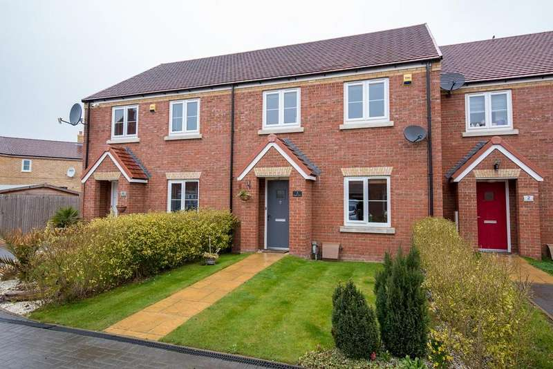 3 Bedrooms Terraced House for sale in Humber Drive, Spalding, PE11