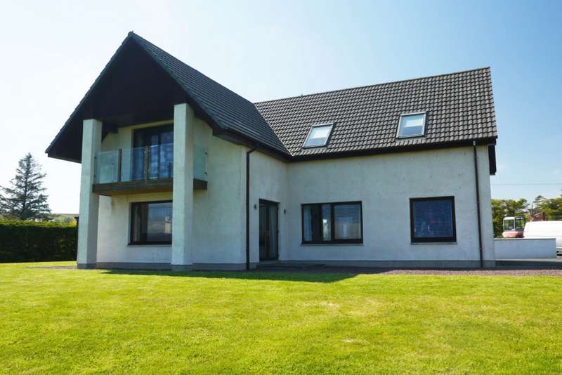 4 Bedrooms Detached House for sale in Coast, Inverasdale, Poolewe, IV22