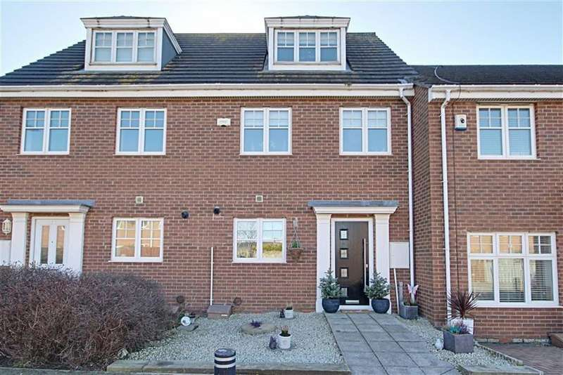 3 Bedrooms Town House for sale in County Mews, South Shields, Tyne And Wear