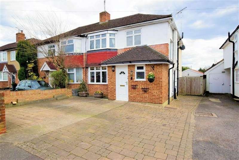 4 Bedrooms Semi Detached House for sale in Cawsam Gardens, Caversham, Reading