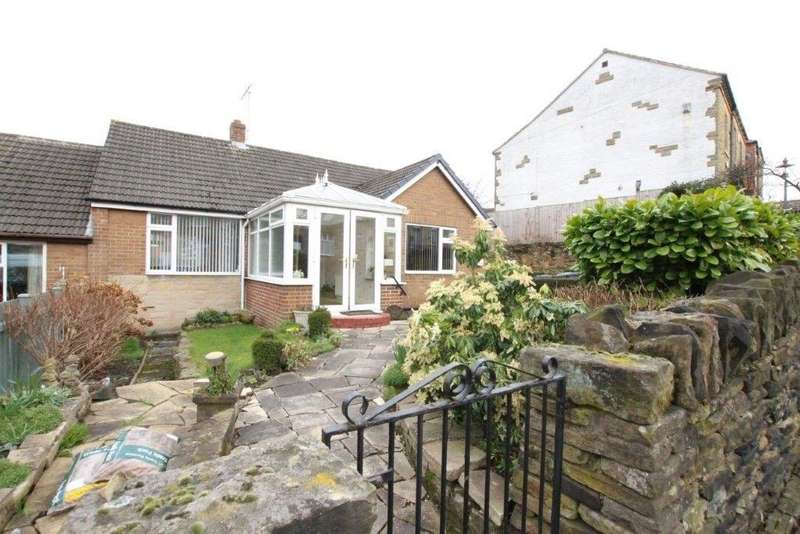 2 Bedrooms Semi Detached Bungalow for sale in Pynate Road, Batley