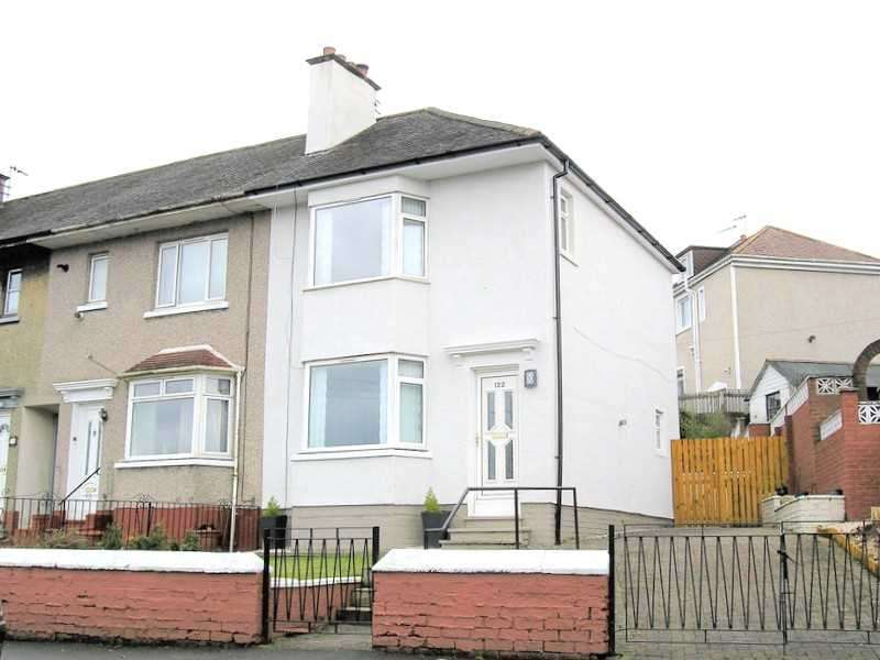 2 Bedrooms End Of Terrace House for sale in Garrowhill Drive, Garrowhill, Glasgow
