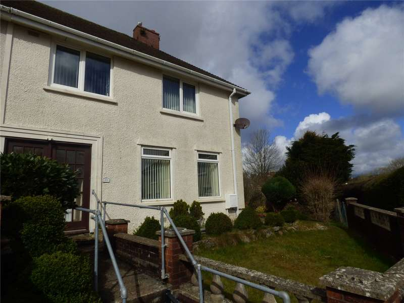 3 Bedrooms Semi Detached House for sale in Poyers Avenue, Pembroke, Pembrokeshire