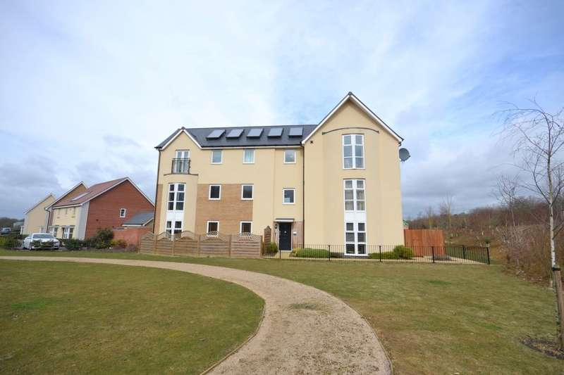 2 Bedrooms Flat for sale in Narrowboat Lane, Pineham Lock, Northampton, NN4