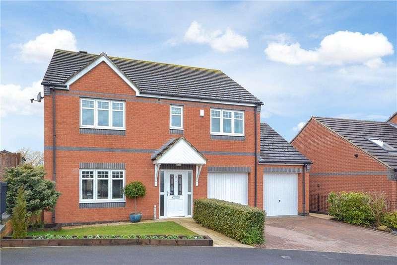 4 Bedrooms Detached House for sale in Jasmine Fields, Kirklevington, Yarm, Stockton-On-Tees