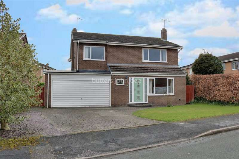 4 Bedrooms Detached House for sale in Barrymore Crescent, Comberbach