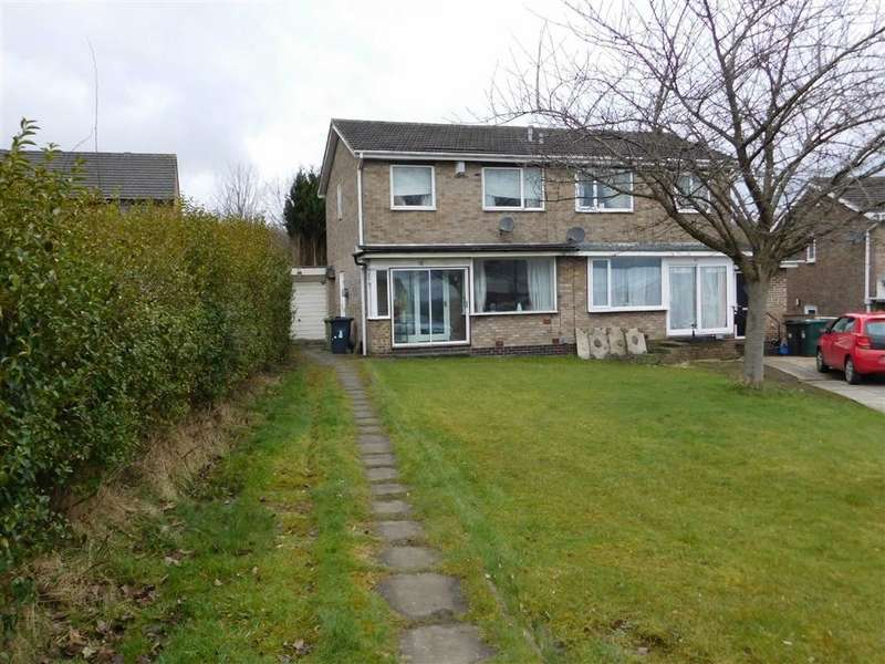 2 Bedrooms Semi Detached House for sale in Crawthorne Crescent, Deighton, Huddersfield