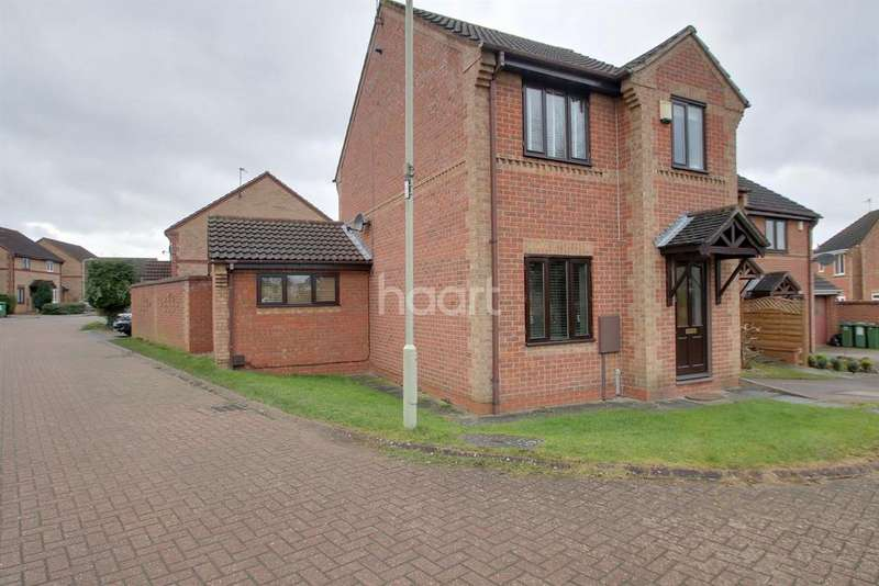 3 Bedrooms Detached House for sale in Mellier Close, Narborough, Leicester