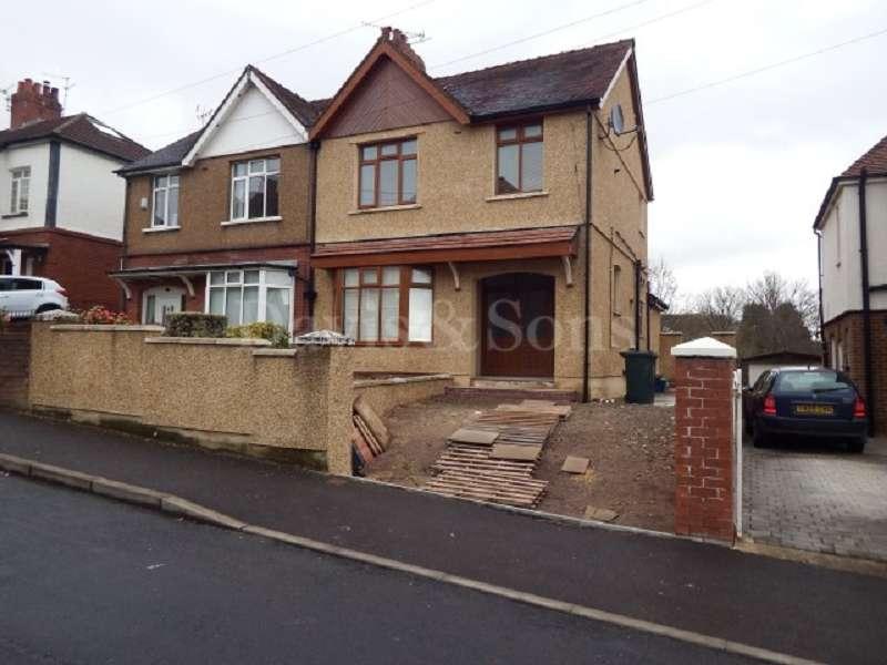 4 Bedrooms Semi Detached House for sale in Allt-yr-yn Road, Allt Yr Yn, Newport. NP20 5EB