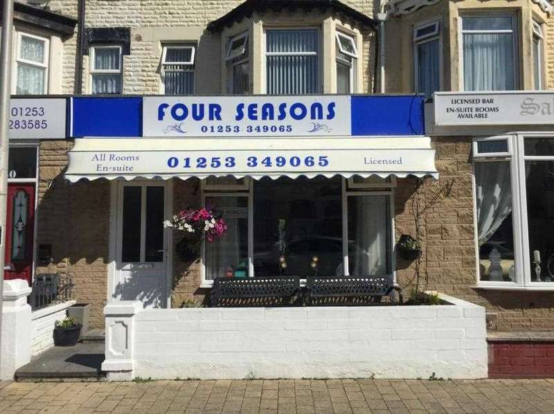 8 Bedrooms Hotel Commercial for sale in Four Seasons Guest House, 42 St Chads Road, Blackpool