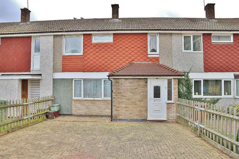 3 Bedrooms Terraced House for sale in Lincoln Close, Slade Green, Kent, DA8 2EB