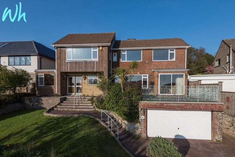 4 Bedrooms Detached House for sale in Hill Brow, Hove BN3