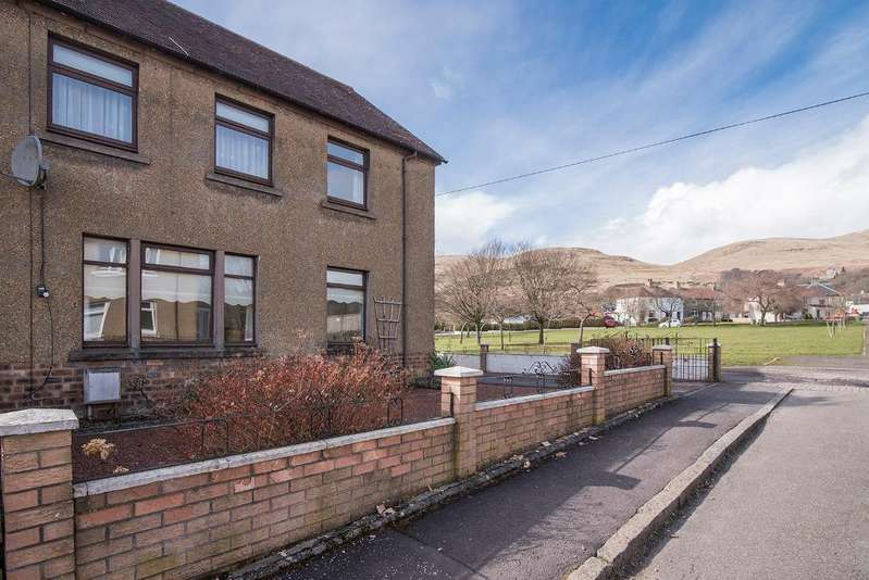 3 Bedrooms End Of Terrace House for sale in Kirkstyle Terrace, Dollar, Stirling, Scotland, FK14 7AH
