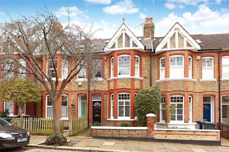 5 Bedrooms Terraced House for sale in Devonshire Road, London, W5