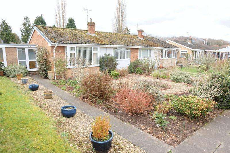 2 Bedrooms Semi Detached Bungalow for sale in The Grove, Stourport-On-Severn DY13 9NE