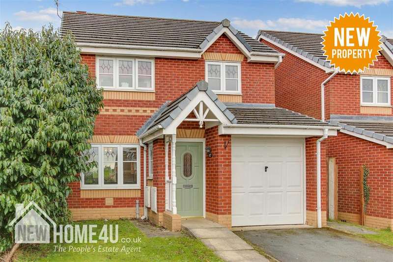 3 Bedrooms Detached House for sale in Cwrt Telford, Connah's Quay, Deeside
