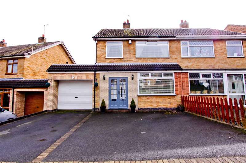 3 Bedrooms Semi Detached House for sale in Link Road, Anstey, Leicester