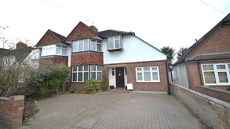 4 Bedrooms Semi Detached House for sale in Orme Road, Kingston Upon Thames KT1