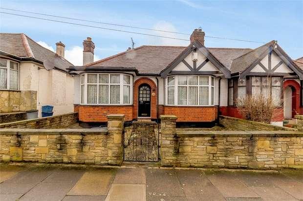 3 Bedrooms Semi Detached Bungalow for sale in Hamilton Avenue, Ilford, Essex
