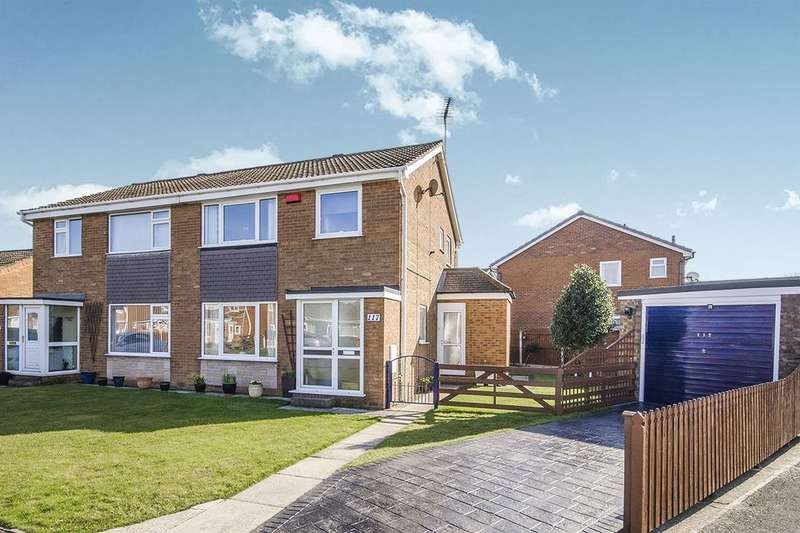 3 Bedrooms Semi Detached House for sale in Westbourne Road, Selby, YO8