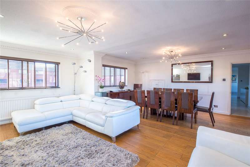 3 Bedrooms Apartment Flat for sale in Spencer Close, Finchley, London, N3