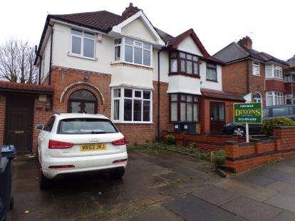 3 Bedrooms Semi Detached House for sale in Sheringham Road, Kings Norton, Birmingham, West Midlands