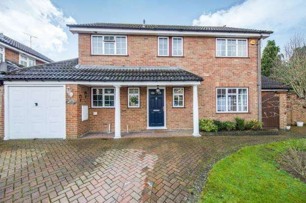 4 Bedrooms Detached House for sale in Blackwater, Hampshire, 26 Ashbury Close Black