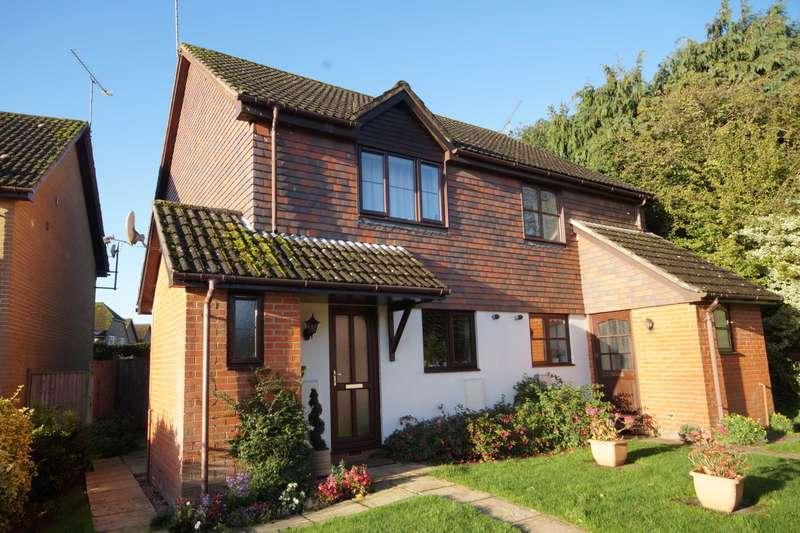 3 Bedrooms Semi Detached House for sale in Eggars Field, Bentley, GU10