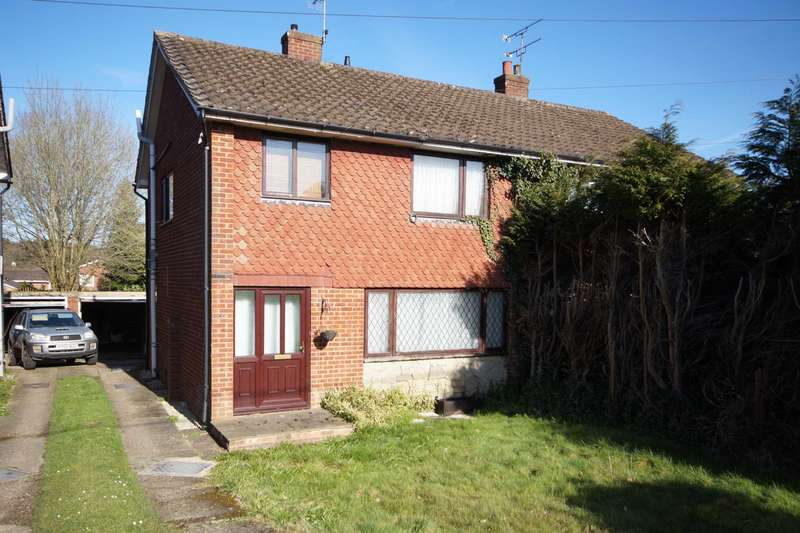 3 Bedrooms Semi Detached House for sale in Chase Road, Lindford, GU35