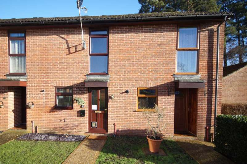 2 Bedrooms Terraced House for sale in Montrose Close, Whitehill, GU35