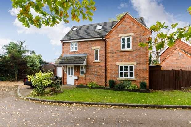 5 Bedrooms Detached House for sale in Hamlet Close, St Albans, Hertfordshire, AL2 3PP