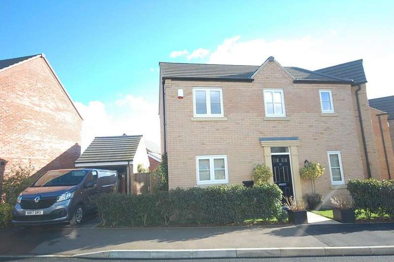 3 Bedrooms Detached House for sale in Terry Smith Avenue, Rothwell, Kettering