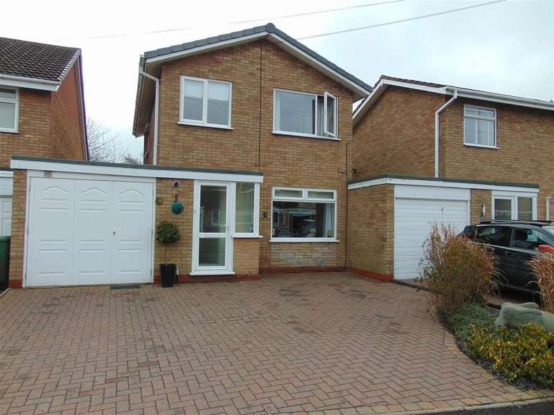 3 Bedrooms Link Detached House for sale in Honiton Way, Aldridge