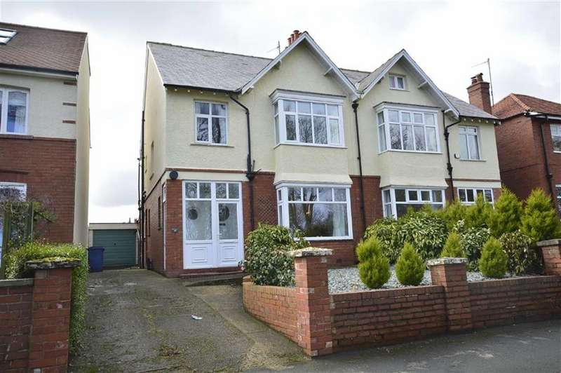 3 Bedrooms Semi Detached House for sale in Peasholm Drive, Scarborough