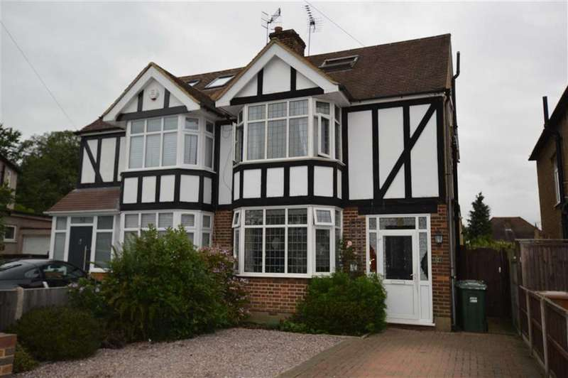 5 Bedrooms Semi Detached House for sale in Claremont Crescent, Croxley Green, Rickmansworth Hertfordshire, WD3
