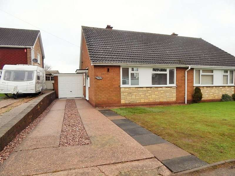 2 Bedrooms Semi Detached Bungalow for rent in Fairford Gardens, Burntwood WS7