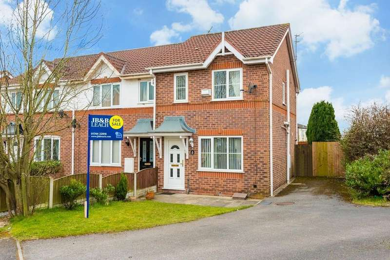 2 Bedrooms Terraced House for sale in Manorwood Drive, Whiston