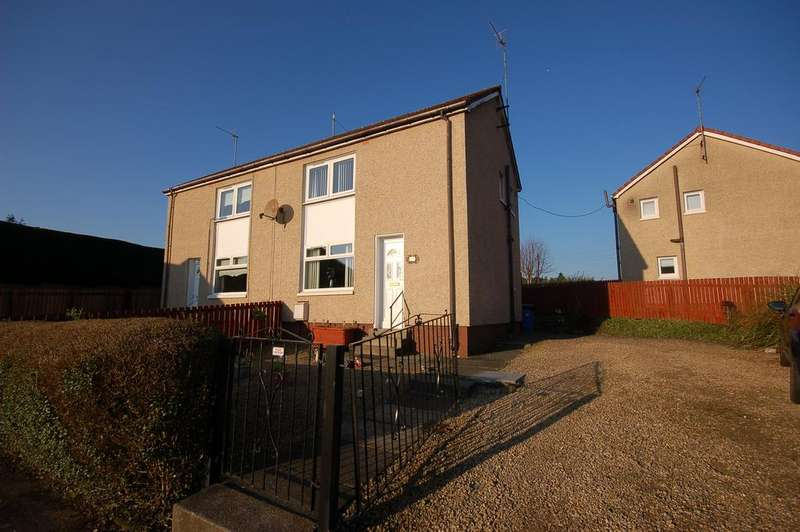 2 Bedrooms Semi Detached House for sale in 38 Holehouse Drive, Kilbirnie, KA25 7BJ