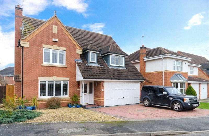 4 Bedrooms Detached House for sale in Hilda Close, Quarrington, Sleaford, Lincolnshire, NG34