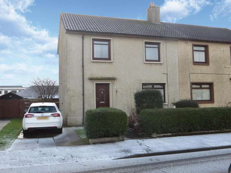 3 Bedrooms Semi Detached House for sale in 38 McKillop Place, Saltcoats, KA21 6BA