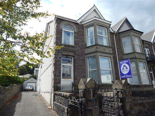 4 Bedrooms End Of Terrace House for sale in Morgan Street, Tredegar. NP22 3NA