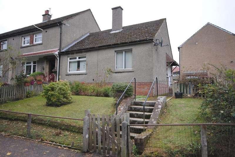 1 Bedroom Terraced Bungalow for sale in 35 Parkandarroch Crescent, Carluke, ML8 4DT