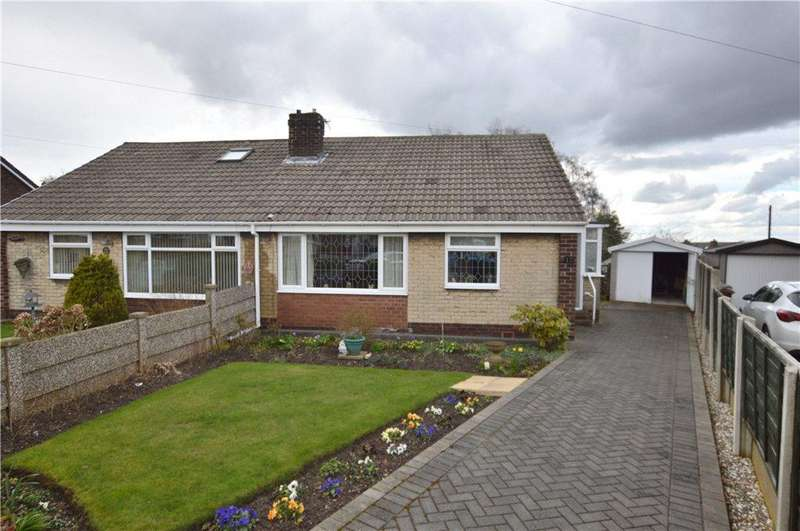 2 Bedrooms Semi Detached Bungalow for sale in Charles Street, Ryhill, Wakefield, West Yorkshire