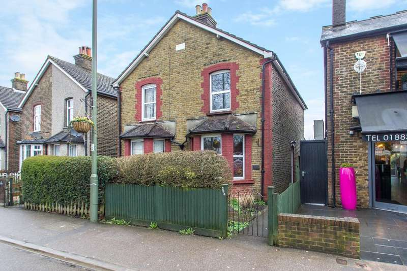 2 Bedrooms Semi Detached House for sale in Limpsfield Road, Warlingham, Surrey, CR6 9HA