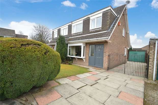 3 Bedrooms Semi Detached House for sale in Blaven Close, Davenport, Stockport, Cheshire