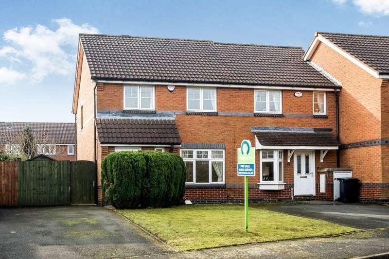 3 Bedrooms Semi Detached House for sale in Anvil Crescent, Coseley, Bilston, WV14