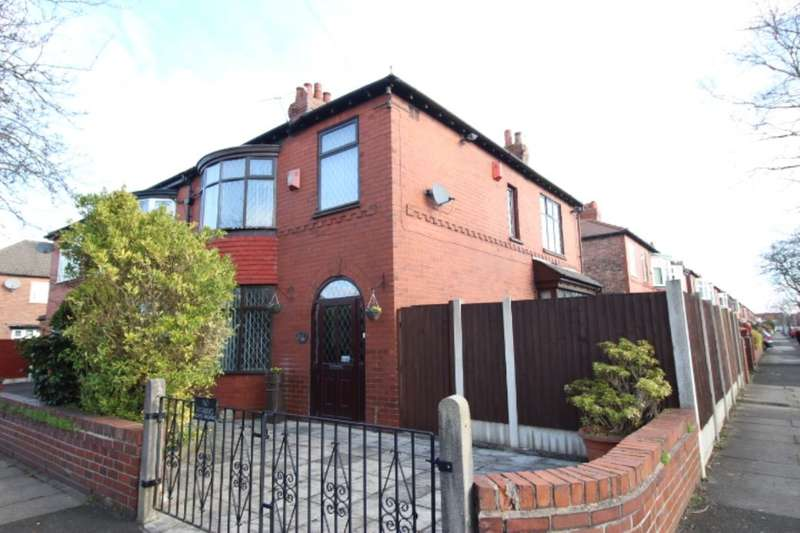 3 Bedrooms Semi Detached House for sale in Shirley Avenue, Denton, Manchester, M34