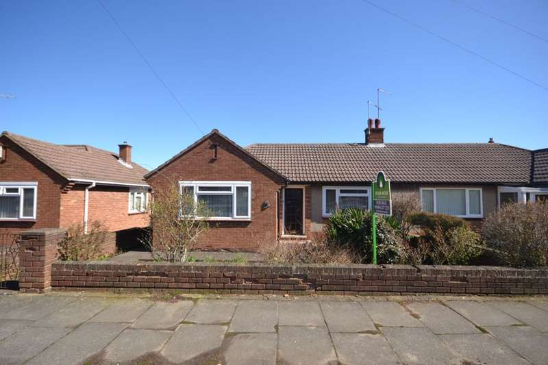 2 Bedrooms Semi Detached Bungalow for sale in Collingdale Road, The Headlands, Northampton, NN3