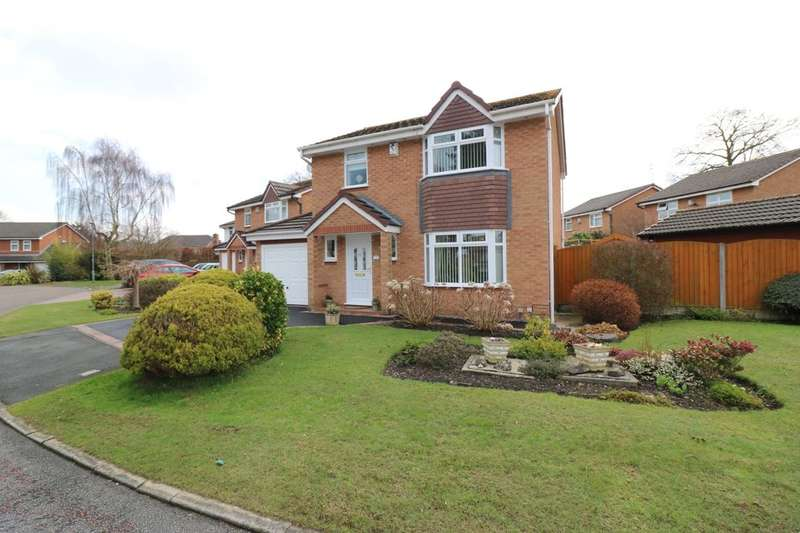 3 Bedrooms Detached House for sale in Welshampton Close, Great Sutton, Ellesmere Port, CH66