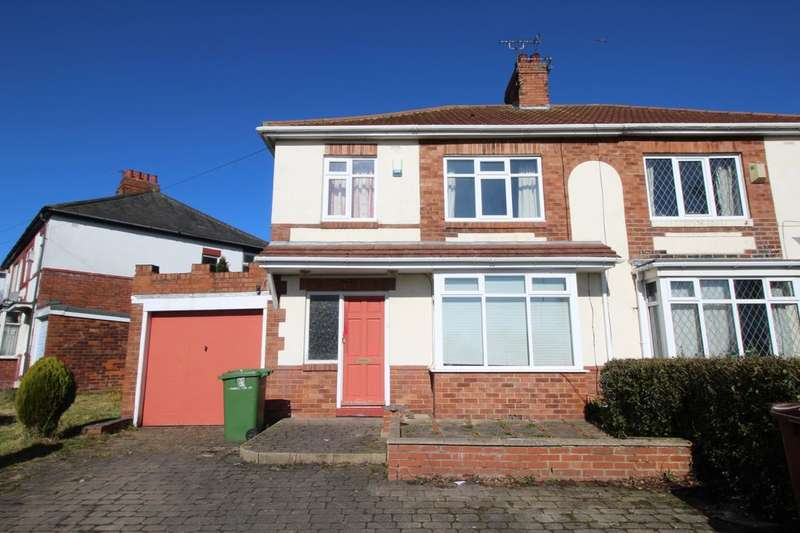 3 Bedrooms Semi Detached House for rent in Cochrane Park Avenue, Newcastle Upon Tyne, NE7